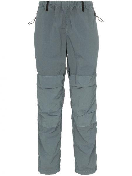 Нейлоновые спортивные серые спортивные брюки с поясом Nemen