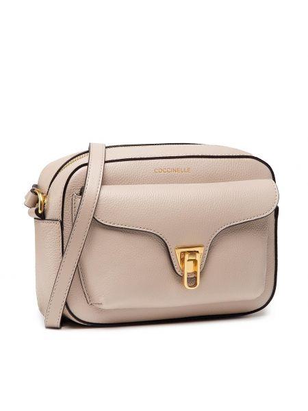 Różowa klasyczna torebka Coccinelle