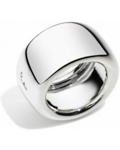 Biały pierścionek Pomellato