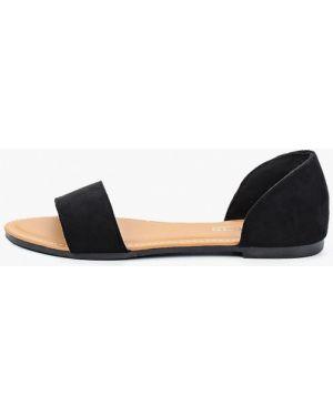 Черные сандалии Martin Pescatore