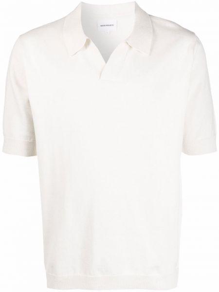 Lniana biała koszula - biała Norse Projects
