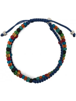 Bransoletka z koralikami - niebieska Tateossian