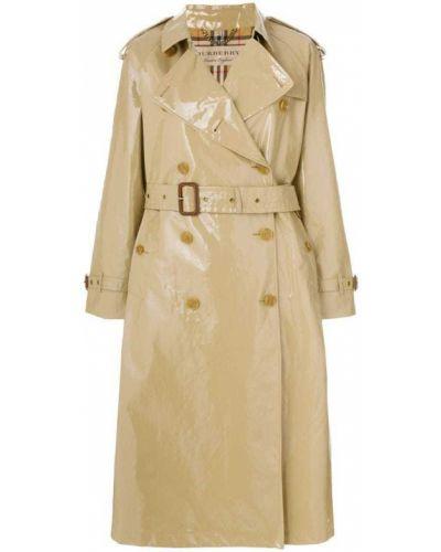 Длинное пальто свободное пальто-тренч Burberry