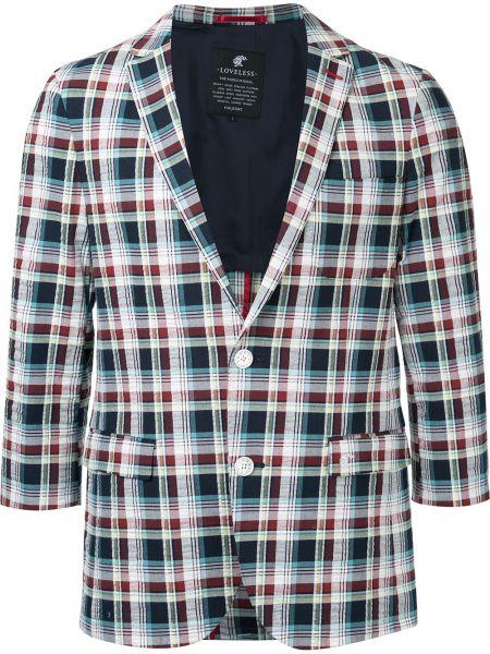 Хлопковый с рукавами пиджак Loveless
