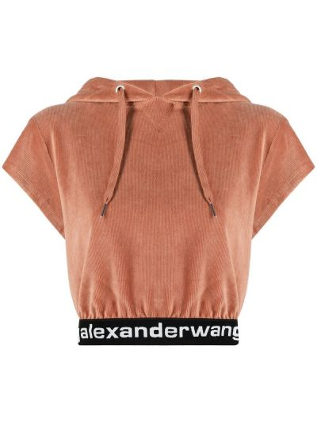 Bluza z kapturem - różowa Alexander Wang