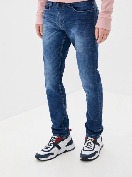 Синие зауженные джинсы-скинни из микрофибры Sublevel