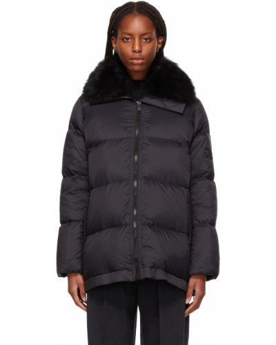 Пуховая куртка - черная Yves Salomon Army