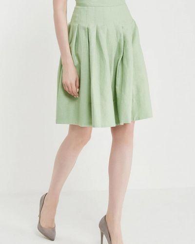 Зеленая юбка весенняя United Colors Of Benetton