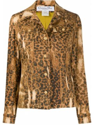 Джинсовая куртка с манжетами на пуговицах Christian Dior Pre-owned