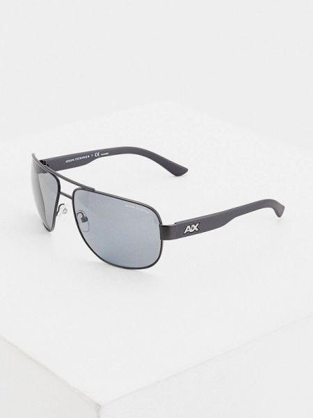 Солнцезащитные очки - черные Armani Exchange