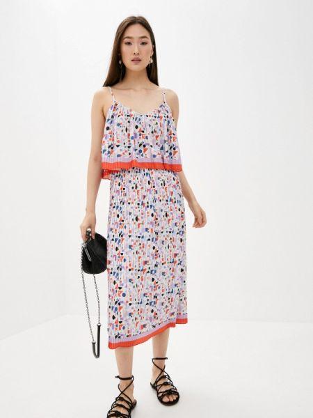Фиолетовое повседневное платье Blugirl Folies