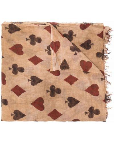 Коричневый шарф длинный Uma Wang