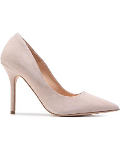 Туфли на каблуке - бежевые Eva Longoria