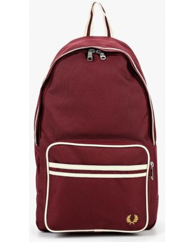 Рюкзак бордовый красный Fred Perry
