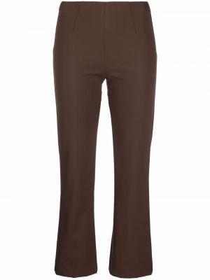 Укороченные брюки - коричневые Pt01