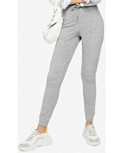 Спортивные брюки серые Topshop