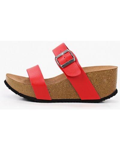 Кожаные красные туфли Ideal Shoes®