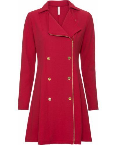 Деловое платье классическое красный Bonprix