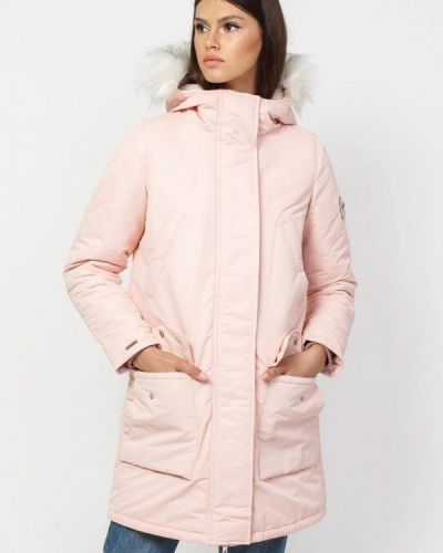 Утепленная куртка - розовая Dasti