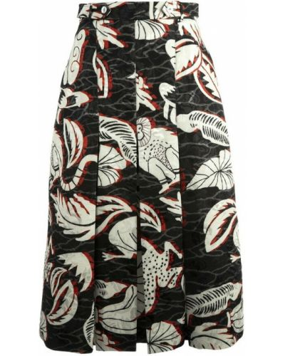 Szara spódnica Stella Jean