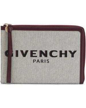 Złota kopertówka - beżowa Givenchy