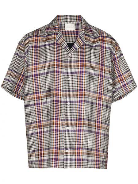Свободная рубашка с короткими рукавами на пуговицах Lou Dalton