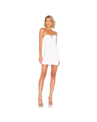 Облегающее платье с декольте в полоску By The Way.