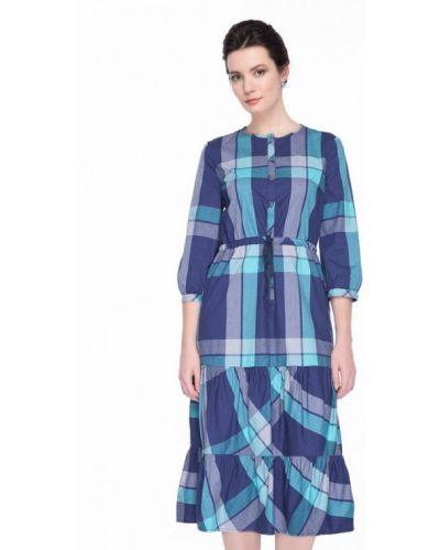 Синее платье Gregory