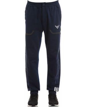 Białe joggery z kapturem z printem Adidas Originals By White Mountaineering