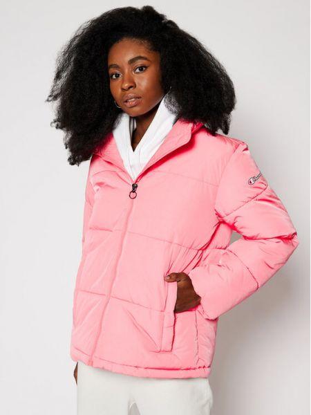 Różowa kurtka Champion