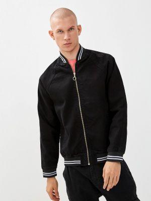 Черная турецкая джинсовая куртка Trendyol