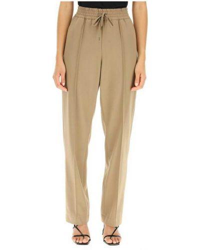Brązowe spodnie A.p.c.
