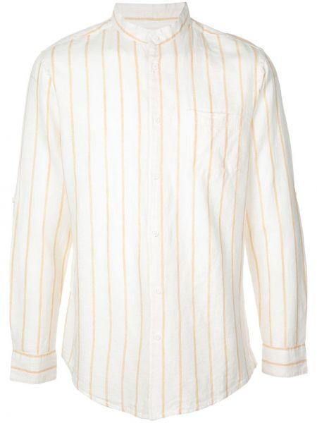 Koszula z długim rękawem długa z paskami Onia