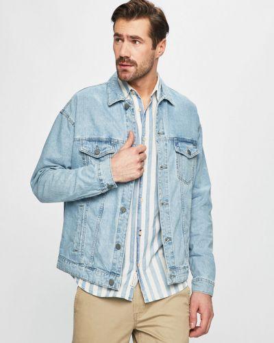 Джинсовая куртка на пуговицах свободная Only & Sons