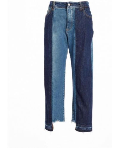 Хлопковые синие джинсы с подкладкой Manila Grace