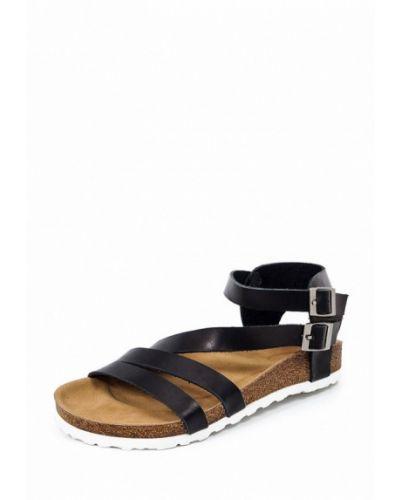 Черные сандалии Roberto Netti