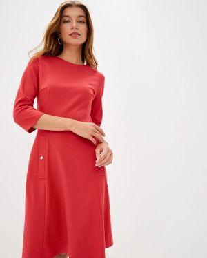 Платье коралловый прямое Vittoria Vicci
