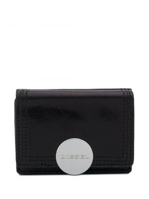 Кожаный кошелек - черный Diesel