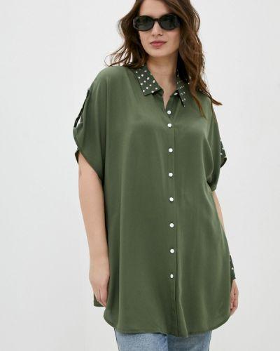 Блузка - зеленая Silver String