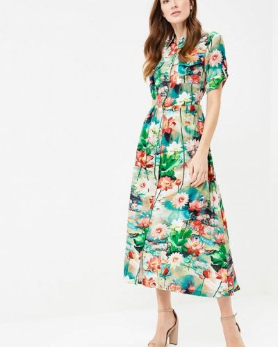 Зеленое платье Madam T