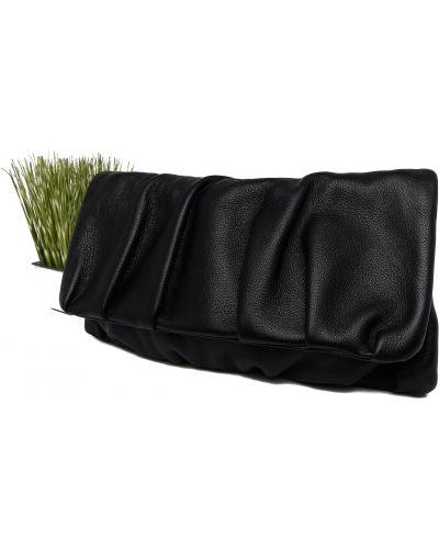 Кожаная сумка через плечо - черная Valiente