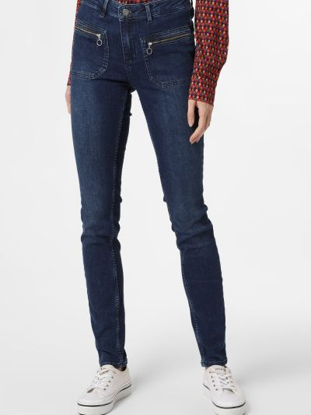 Niebieskie mom jeans Rosner