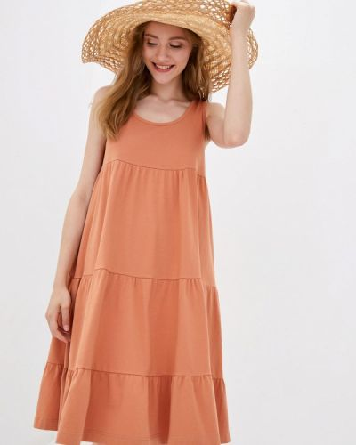 Оранжевое зимнее сарафан Promin