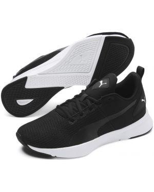 Спортивные черные кроссовки беговые сетчатые для бега Puma