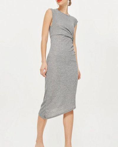 Серое платье Topshop
