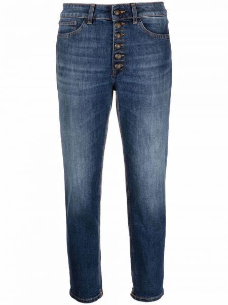 Синие джинсовые джинсы Dondup