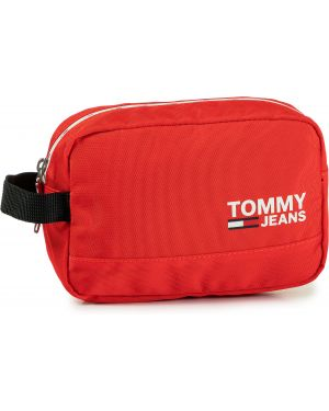 Jeansy czerwony Tommy Jeans