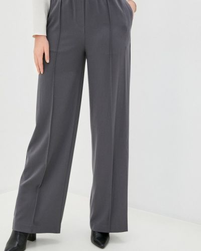 Повседневные серые брюки Marks & Spencer