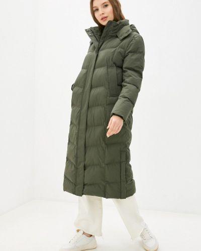Утепленная куртка хаки Marks & Spencer