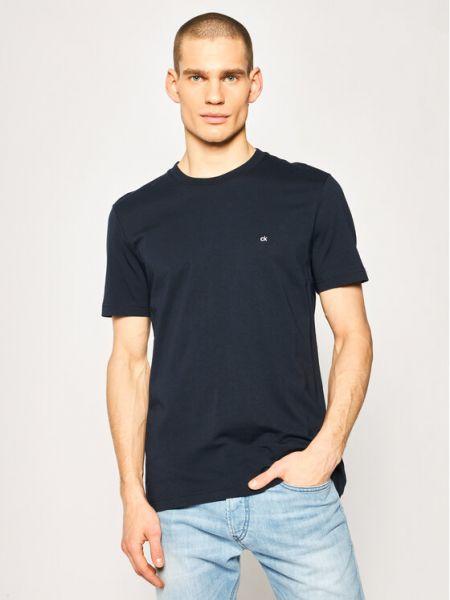 T-shirt z haftem Calvin Klein